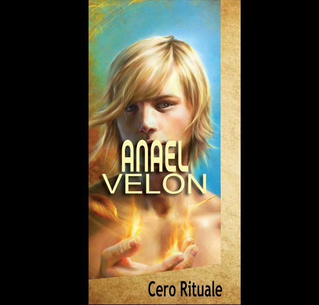 CANDELA DELL'ARCANGELO ANAEL CM 18.5X5.5
