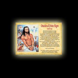ORAZIONE AL CRISTO NEGRO (SPIRITO CONGO) - PERGAMENA