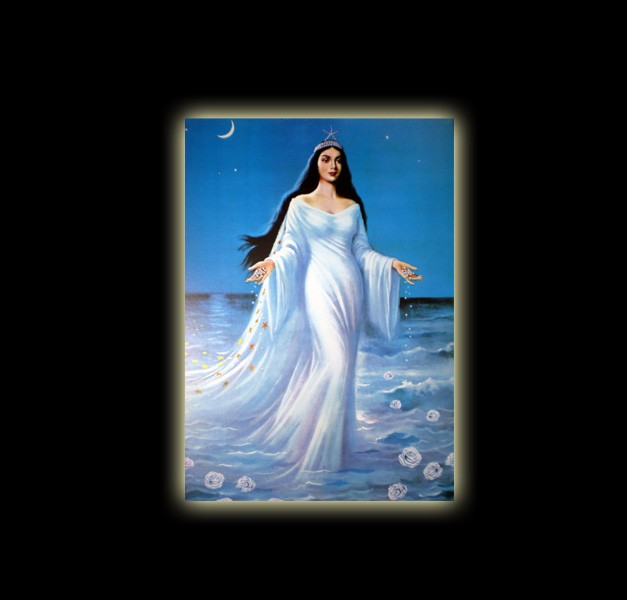IEMANJA STELLA MARIS – STAMPA SUBLIMATICA SU ALLUMINIO CM 20 X 15
