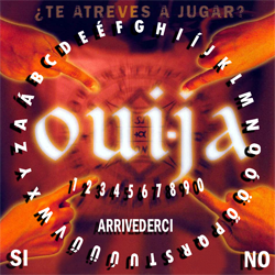 TAVOLA SEDUTA SPIRITICA ROUNDED CM 29 X 29 - MINILIBRO + PLANCHETTE