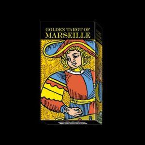 GOLDEN TAROT OF MARSEILLE - 78 CARTE