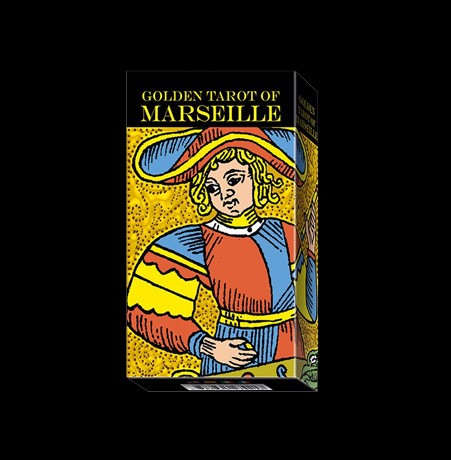 GOLDEN TAROT OF MARSEILLE – 78 CARTE