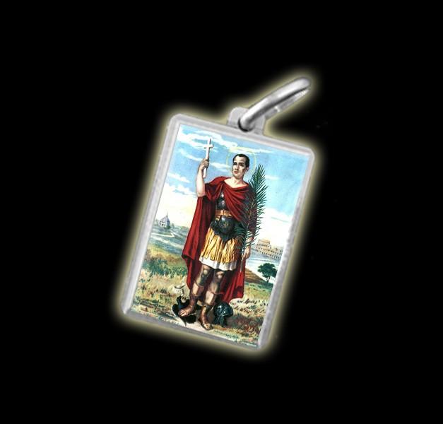 Medaglia – Immagine a colori SANT'ESPEDITO – argento 925