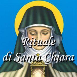 RITUALE DI SANTA CHIARA