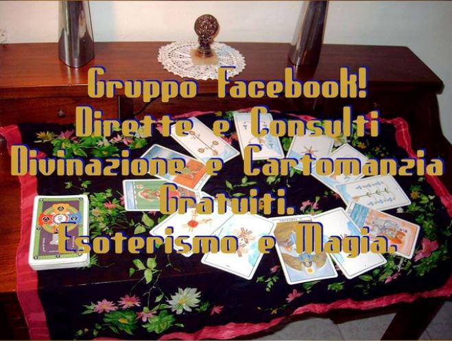 Gruppo facebook dirette e consulti gratuiti